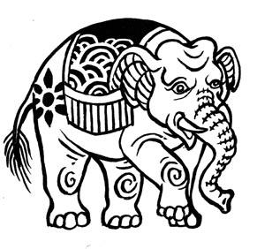 Elefant-web